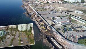 İzmirde dikkat çeken açıklama... Sahile toprak dökerek set oluşturmak, çözüm değil çevre kirliliği