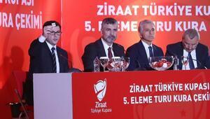 Ziraat Türkiye Kupasında son 16 turu kura çekimi yarın yapılacak