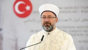 Diyanet İşleri Başkanı Ali Erbaştan, vatandaşlara duaya iştirak daveti