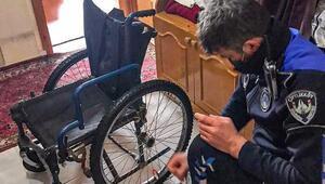Engelli vatandaşın yardımına zabıta ekipleri koştu
