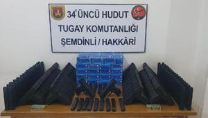 MSB: Hakkâri ve Vanda 80 kurusıkı tabanca ele geçirildi