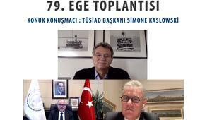 EGİAD 79. EGE Toplantısının konuğu TÜSİAD Başkanı Simone Kaslowski