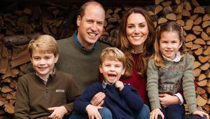 Prens William ve Kate Middletondan ailece odunluk pozu
