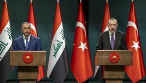 Son dakika haberler... Cumhurbaşkanı Erdoğan ve Irak Başbakanı Kazımiden ortak mesaj