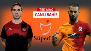 Tam 37 sezon sonra ligde karşılaşacaklar Karagümrükün Galatasaray karşısında iddaa oranı...