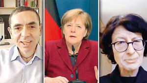 Merkel, Türk aşı mucitlerini tebrik etti