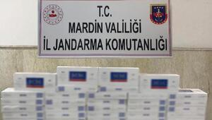 Mardinde 800 paket kaçak sigara ele geçirildi