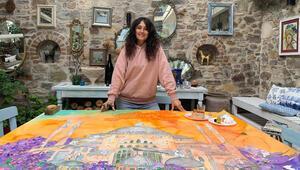 Ressam Pınar Tınç: Evde kalmak, ruhumu gezmeye zorladı