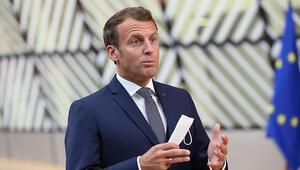 Koronavirüse yakalanan Macron son durumunu paylaştı
