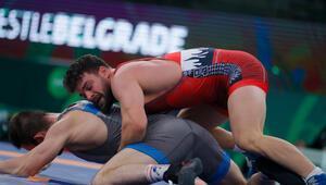 Milli güreşçi Osman Göçen, Dünya Kupasında bronz madalyanın sahibi oldu