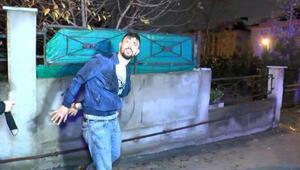 Kısıtlamayı ihlal edip yakalandı, küfürler savurdu: Ben terörist miyim