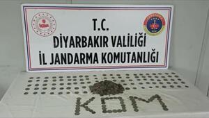 Diyarbakırda tarihi eser kaçakçılığı operasyonu