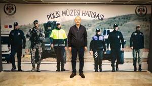 Bakan Soylu, Polis Müzesini ziyaret etti