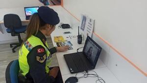 Mersin'de Jandarma 'EBA' üzerinden trafik eğitimi verdi