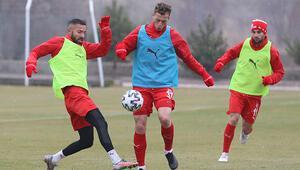 Sivassporda Konyaspor maçı hazırlıkları sürüyor