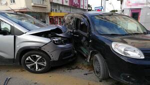 Manisada kaza yapan araçtaki sürücü ve yolcuya, sokağa çıkma kısıtlamasını ihlal cezası