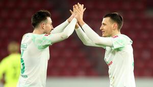 Werder Bremen, 9 maç aradan sonra Eren Sami Dinkçinin golüyle galip geldi