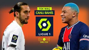 Bizim Çocukların Ligue 1deki dev kapışması Misli.comda CANLI YAYINDA PSGnin iddaa oranı...