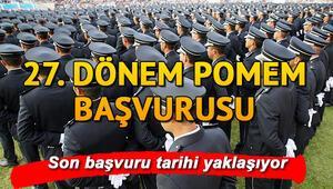 27. Dönem POMEM başvuruları ne zaman bitecek 8 bin polis alımı e devlet başvuru ekranı ve başvuru kılavuzu