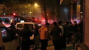 Bayrampaşada korkunç yangın Bir kişi hayatını kaybetti