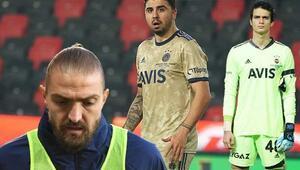 Son Dakika | Fenerbahçede gergin anlar ekrana yansıdı Nereye alıyorsun Caner abi