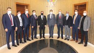 Oda başkanlarından STSOya teşekkür ziyareti
