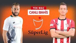 Konyaspor iç sahada oynadığı son 4 resmi maçı kazandı Sivasspora karşı iddaa oranı...