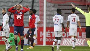 Lille 0-0 PSG (Burak Yılmaz, Yusuf Yazıcı ve Zeki Çelik 11de başladı)