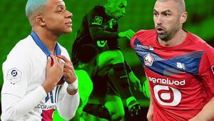 Son Dakika | Lille - PSG maçına damga vuran görüntü Burak Yılmaz 90+3te Fransızları şaşkına çevirdi