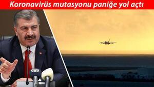 Son dakika haberi: Bakan Kocadan flaş koronavirüs mutasyon açıklaması 4 ülkeye uçuşlar durduruldu