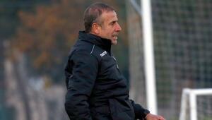 Trabzonspor, Hatay deplasmanında Abdullah Avcı ile kayıp yok...