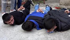Polisten kaçtılar, yakalandıkları pompalı tüfekleri maç olduğunda sıktıklarını söylediler