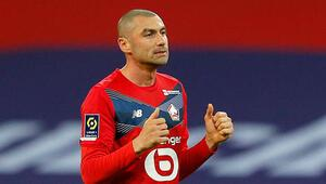 Lille - PSG maçında çok konuşulan hareket Burak Yılmazdan topu çalmıştı...