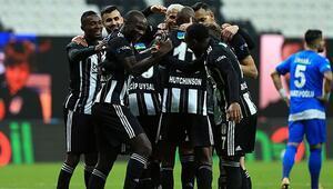 Beşiktaş rakiplerinin ikramını geri çevirmedi Aboubakar krallıkta zirveye yerleşti...