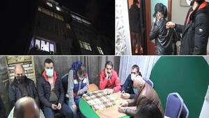 Son dakika haberler: İstanbulda 5 katlı apartmana baskın Üst kat kumarhane, alt katlar fuhuş odası
