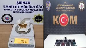 Şırnakta kaçakçılık operasyonu: 40 gözaltı