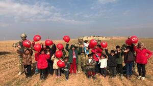 Barış Pınarı bölgesine şehitlerin anısına 450 zeytin fidanı dikildi