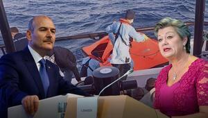 Bakan Soyludan Yunanistana sert tepki gösterdi