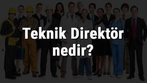 Teknik Direktör nedir, ne iş yapar ve nasıl olunur Teknik Direktör olma şartları, maaşları ve iş imkanları