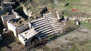 Konuralp antik kenti İtalya ve Almanyanın dikkatini çekti