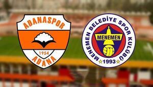 Menemenspor, Adana deplasmanında Rakip Adanaspor...