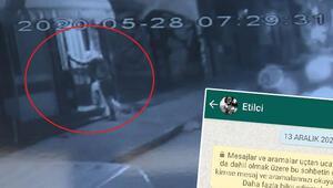 Dehşete düşüren an Görüntüleri ortaya çıktı Telefonuna böyle kaydetmiş..