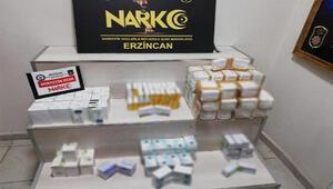Yolcunun valizinde 12 bin uyuşturucu hap ele geçirildi