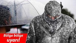 Son dakika haberler: Meteorolojiden sağanak yağmur ve kar yağışı uyarısı İşte son hava durumu raporu