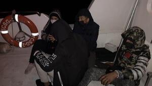 Muğla açıklarında 4 sığınmacı kurtarıldı
