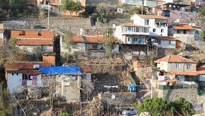 Son dakika haberler: İzmirde depremden sonra heyelan paniği