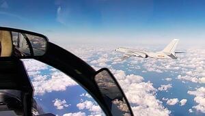 Çin ve Rusyadan gövde gösterisi Bombardıman uçaklarını havalandırdılar