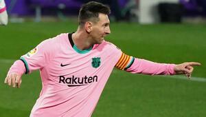 Son Dakika Haberi   Barcelonada Lionel Messi, Pelenin rekorunu kırdı