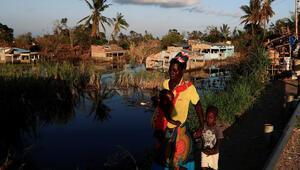 Mozambikte 250 bin çocuk salgın hastalık tehdidi altında