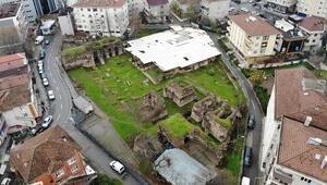 Sancaktepe Meydanındaki 14 yüzyıllık saray gün yüzüne çıkarılıyor